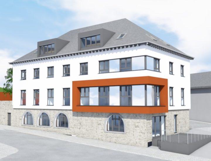 CONCOURS Rénovation de l'ancien palais de Justice - HOUFFALIZE (B)