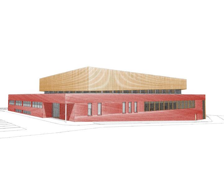 CONCOURS Création d'une infrastructure dédiée au Basket-ball - BASTOGNE (B)