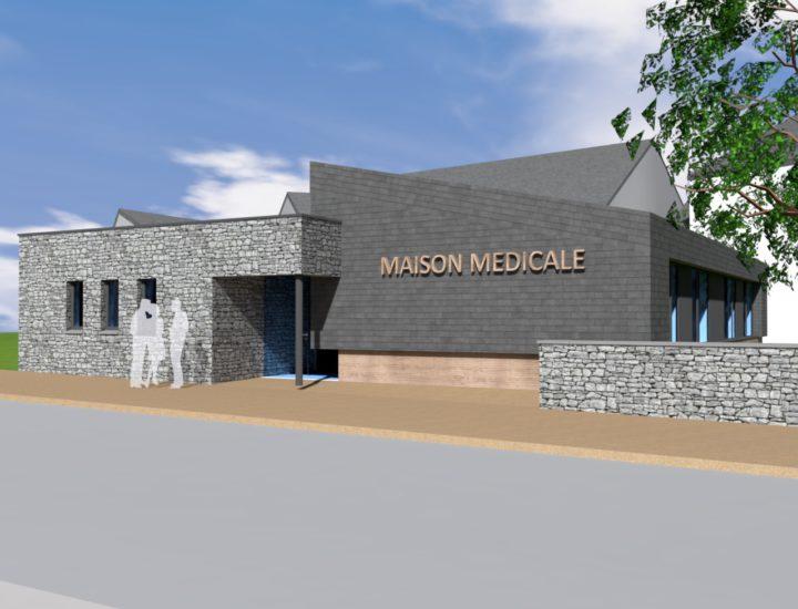 CONCOURS Création d'une maison médicale - VAUX-SUR-SURE (B)