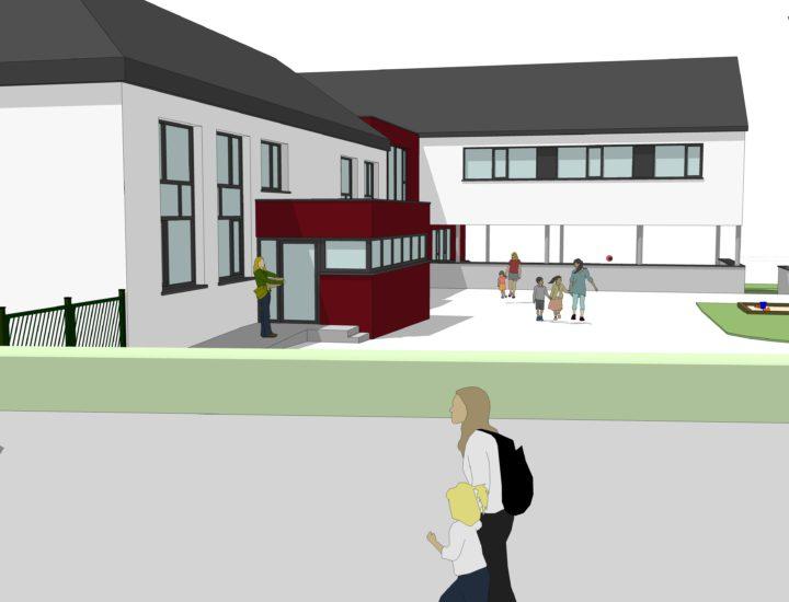 Extension et rénovation d'une école maternelle et primaire - NADRIN (B)