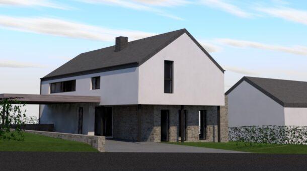 Construction d'une habitation unifamiliale - LES TAILLES  (B)